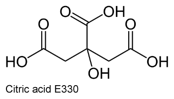 Citric acid E330 лимонная кислота пищевая добавка