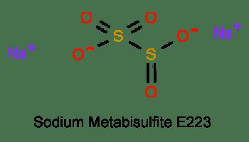 Sodium metabisulfite E223 Пиросульфит натрия пищевая добавка
